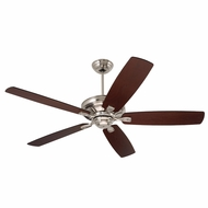 Emerson Ceiling Fans CF784BS Carrera Brushed Steel 60 Home Ceiling Fan