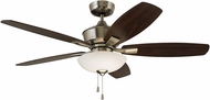Emerson Ceiling Fans CF825BS Lindell Brushed Steel LED 52 Home Ceiling Fan
