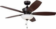 Emerson Ceiling Fans CF825ORB Lindell Oil Rubbed Bronze LED 52 Home Ceiling Fan