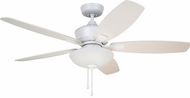 Emerson Ceiling Fans CF825SW Lindell Satin White LED 52 Ceiling Fan