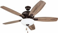 Emerson Ceiling Fans CF835ORB Builder Oil Rubbed Bronze 52  Home Ceiling Fan