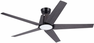 Emerson Ceiling Fans CF840BQ Floret Contemporary Barbeque Black LED Outdoor 60  Home Ceiling Fan