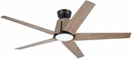 Emerson Ceiling Fans CF840ORB Floret Contemporary Oil Rubbed Bronze LED Outdoor 60  Home Ceiling Fan