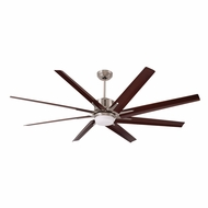 Emerson Ceiling Fans CF985BS Aira Eco Brushed Steel Halogen 72 Home Ceiling Fan
