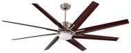 Emerson Ceiling Fans CF985LBS Aira Eco Contemporary Brushed Steel LED Aira Eco 72 Home Ceiling Fan