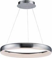 ET2 E10030-SN Innertube Contemporary Satin Nickel LED 23.5  Lighting Pendant