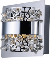 ET2 E20331-20PC Tiara Modern Polished Chrome LED Wall Lamp