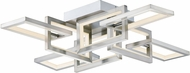 ET2 E20352-SN Link Modern Satin Nickel LED Ceiling Lighting