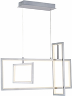 ET2 E20356-SN Link Modern Satin Nickel LED Kitchen Island Lighting
