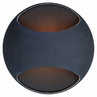 ET2 E20540-BK Wink Black 5 Inch Tall Contemporary Wall Sconce Lighting Fixture - Xenon