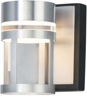 ET2 E20611-83BKAL Accord Contemporary Black / Brushed Aluminum LED Wall Lighting Sconce