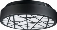 ET2 E20642-61BK Intersect Modern Black LED 23.5  Ceiling Light