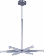 ET2 E21026-AL Spoke Modern Brushed Aluminum LED Hanging Lamp