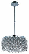 ET2 E21155-20PC Contemporary Polished Chrome 8  Tall Pendant Lighting Fixture