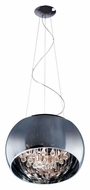ET2 E21206-10PC Sense Large 19 Inch Diameter Modern Polished Chrome Hanging Light