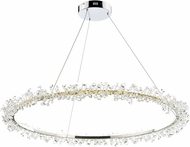 ET2 E21212-20PC Bracelet Polished Chrome LED 34  Ceiling Pendant Light