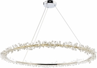 ET2 E21213-20PC Bracelet Polished Chrome LED 43  Drop Ceiling Light Fixture