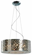 ET2 E2130810PC Inca 9-lamp Modern Pendant Light