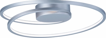 ET2 E21320-MS Cycle Contemporary Matte Silver LED Ceiling Lighting