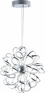ET2 E21412-PC Chaos Contemporary Polished Chrome LED 32  Pendant Light