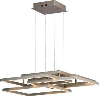 ET2 E21516-CHP Traverse LED Contemporary Champagne LED Pendant Lighting