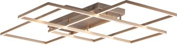 ET2 E21519-CHP Traverse LED Contemporary Champagne LED Flush Mount Lighting