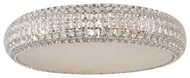 ET2 E2180020PC Bijou 4-light Flush Mount Ceiling Lamp