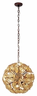 ET2 E22093-26 Cassini Bronze Finish 20  Tall Xenon Hanging Light Fixture