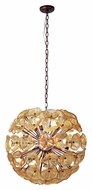 ET2 E22094-26 Cassini Bronze Finish 22.5  Tall Xenon Drop Ceiling Lighting