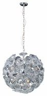 ET2 E22094-28 Cassini Polished Chrome Finish 22.5  Wide Xenon Ceiling Light Pendant