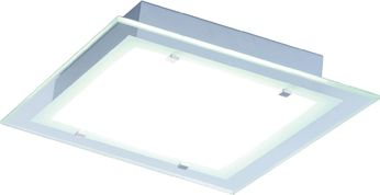 ET2 E22122-24AL Contempra Brushed Aluminum Fluorescent Outdoor Flush Mount Lighting