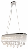 ET2 E22298-18PC Gala Polished Chrome Finish 14.5  Tall Xenon Island Lighting