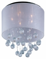 ET2 E22380-120PC Veil 13 Inch Tall 5 Lamp Polished Chrome Overhead Lighting