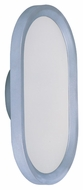 ET2 E22440-11MS Moonbeam Contemporary Metallic Silver Finish 8.25 Wide LED Lighting Sconce