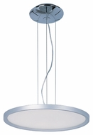 ET2 E22445-11MS Contemporary Metallic Silver 39.5  Tall Drop Lighting Fixture