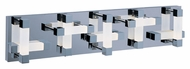 ET2 E22518-90PC Crossroads Contemporary Polished Chrome Finish 28  Wide LED 20 Light Bathroom Lighting Fixture
