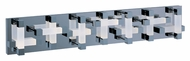 ET2 E22519-90PC Crossroads Modern Polished Chrome Finish 6  Tall LED 28 Light Vanity Lighting