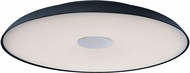 ET2 E22622-BK Dimple Contemporary Black LED 29.5  Ceiling Light