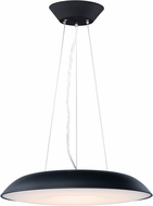ET2 E22624-BK Dimple Modern Black LED 23.5  Hanging Pendant Lighting