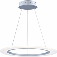 ET2 E22653-11MS Saturn II LED Contemporary Matte Silver Pendant Light