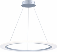ET2 E22654-11MS Saturn II LED Modern Matte Silver Lighting Pendant