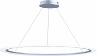 ET2 E22657-11MS Saturn II LED Contemporary Matte Silver Hanging Light