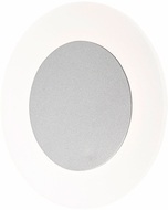 ET2 E22661-11MS Saturn II LED Contemporary Matte Silver LED Wall Sconce Lighting