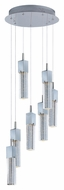 ET2 E22767-89PC Contemporary Polished Chrome 14  Tall Lighting Multi Pendant