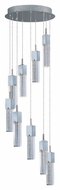 ET2 E22769-89PC Modern Polished Chrome 15.75  Wide Multi Pendant Lamp
