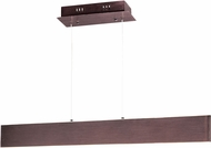 ET2 E22903-BRZ Blade Contemporary Anodized Bronze LED Outdoor 32  Kitchen Island Light
