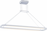 ET2 E23205-MW Jibe Modern Matte White LED Kitchen Island Lighting