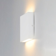 ET2 E23214-WT Brik Modern White LED Outdoor Lamp Sconce