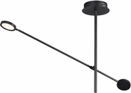 ET2 E23291-BK Paddle Modern Black LED Overhead Lighting