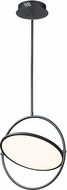 ET2 E23295-BK Paddle Contemporary Black LED Pendant Lighting Fixture